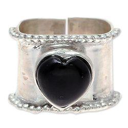 Romance Beckons Onyx Wrap Ring