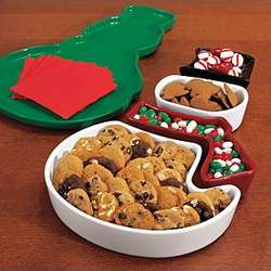 Snowman Appetizer Serving Set