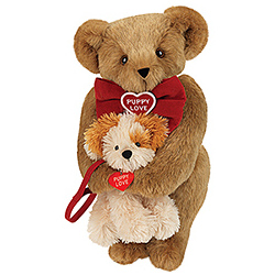 "15"" Puppy Love Teddy Bear with Puppy"