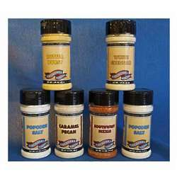 Popcorn Seasonings Six Pack