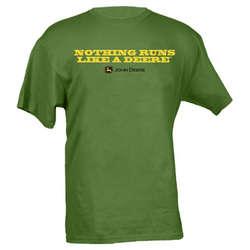 Nothing Runs Like a Deere Green T-Shirt