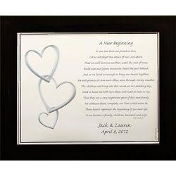 Personalized New Beginning Wedding Print