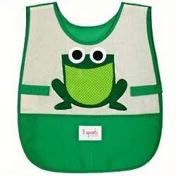 3 Sprouts Frog Art Smock