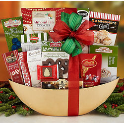 Holiday Cheer Sweet Treats Gift Basket