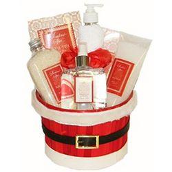 Mrs. Santa's Spa Gift Basket