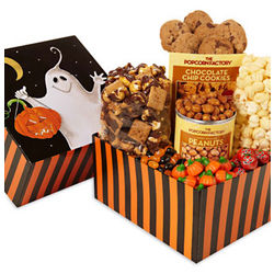 Boo! Popcorn and Sweets Sampler