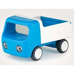 Blue Durable Plastic Tip Truck