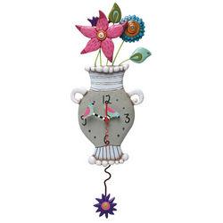 Flowerpot Clock