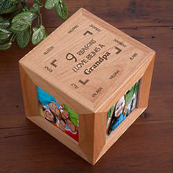 Reasons Why Personalized Photo Cube