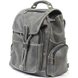 Medium Distressed Leather Backpack