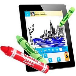 iCrayon Green Stylus Pen For Touch Screen