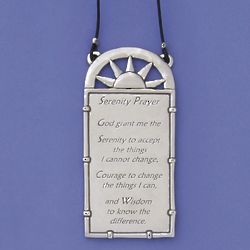 Pewter Serenity Prayer Wall Plaque