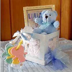 Naptime Lullaby Gift Set for Baby Boy