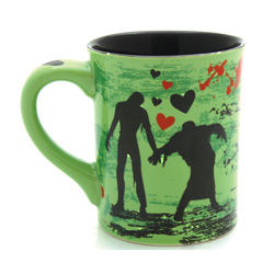 Love You More Than Zombies Love Brains Mug