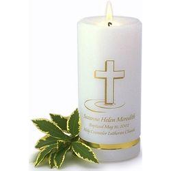 Personalized Baptismal Candle