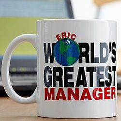 Personalized World's Greatest 11 Ounce Mug