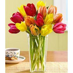 Autumn Tulips Bouquet