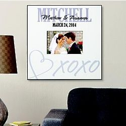 Personalized XOXO Frame