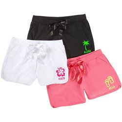 Personalized Tropical Fun Lounge Shorts