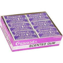 Violet Chewing Gum