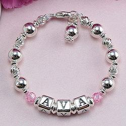 The Brooke Avery™ Sterling Silver Designer Name Bracelet