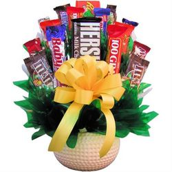 Say Four! Golfers Candy Bouquet