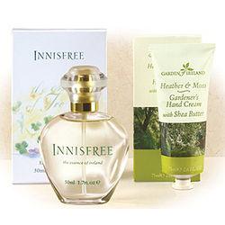 Innisfree Perfume Spray and Hand Cream Gift Set