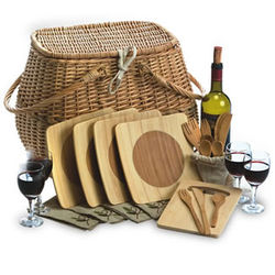 Eco Picnic Basket for 4