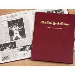 Mets Fan New York Times Team History Book