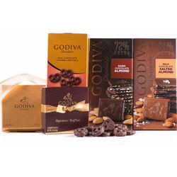4 Boxes of Godiva Signature Chocolates