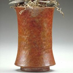 Concave Copper Vase