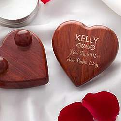 Play Time Personalized Heart-Shaped Massager