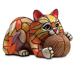 Cat's Meow Tiffany-Style Vinyl Lamp