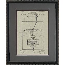 Movie Camera Patent Framed Print