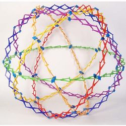 Rings of Color Large Expanding Sphere Toy