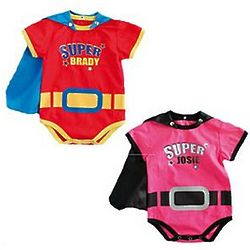 Personalized Superbaby Bodysuit