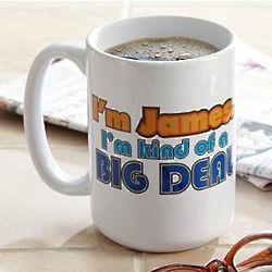 Personalized Big Deal Mug