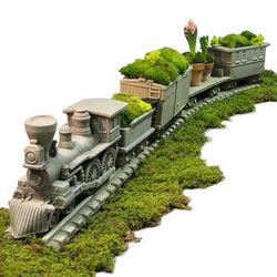 Civil War Steam Locomotive Planter