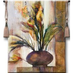 Tuscan Sunlight Floral Wall Tapestry
