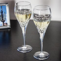 Galway Executive Irish Crystal Longford Wine Glasses