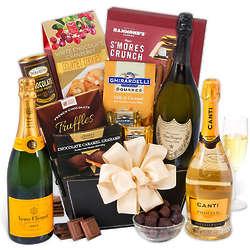 Graduation Veuve Champagne Gift Basket