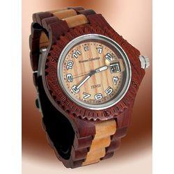 Men's Sandalwood & Maple Wooden Watch