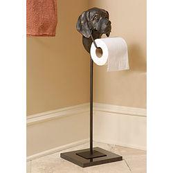 Retriever Dog Toilet Paper Holder