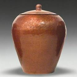 van Erp Copper Acorn Box