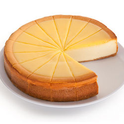 9-Inch Lemon Biscotti Cheesecake