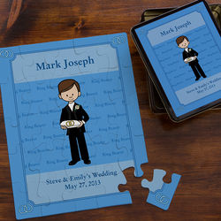 Personalized Ring Bearer Puzzle