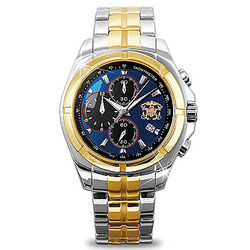 For My Sailor U.S. Navy Men's Chronograph Watch