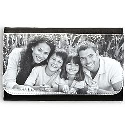 Personalized Black and White Photo Wallet