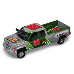 NASCAR Dale Jr. Diet Mountain Dew Truck Sculpture