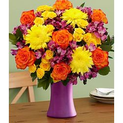 Vibrant Shades of Fall Bouquet